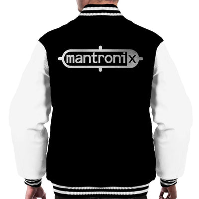 Mantronix Classic Silver Foil Logo Men's Varsity Jacket-My Essential