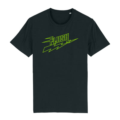 Flash Neon Green Logo Men's Organic T-Shirt-My Essential