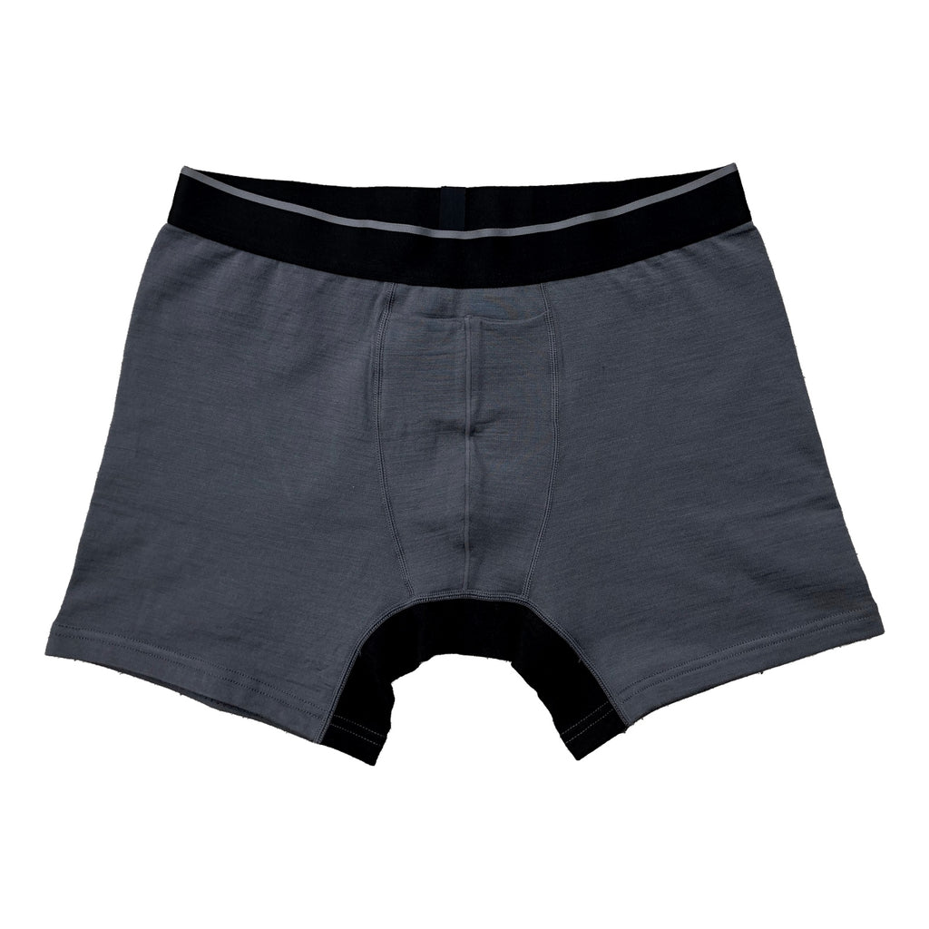 SilverAir Merino Wool Boxer Brief w/Fly