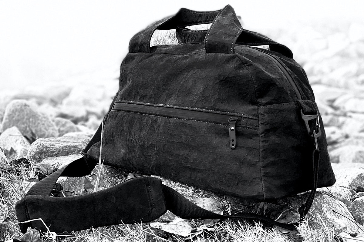 Dyneema Bonded Leather Duffle by Y Athletics