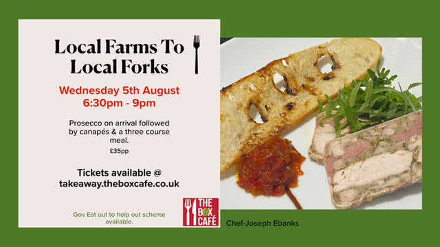 Ticket - Farm2Fork 5th August