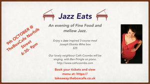 Ticket - Jazz Eats 9th October