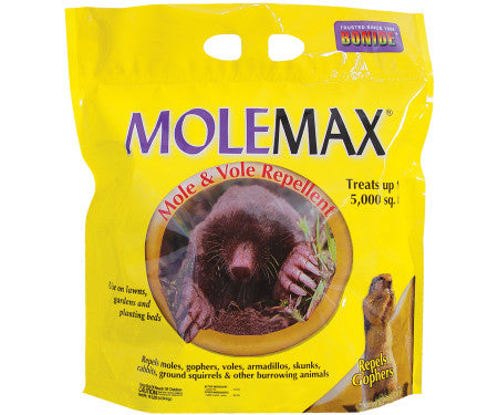 Bonide MoleMax Mole and Vole Repellent 10Lb Bag