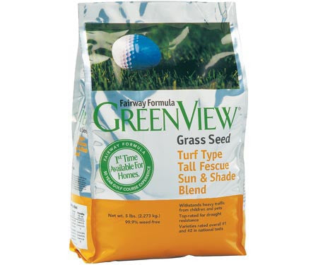 GreenView Fairway Formula Turf Type Tall Fescue Sun And Shade Blend 5lb.