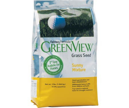 GreenView Fairway Formula Sunny Mixture 25 lb.
