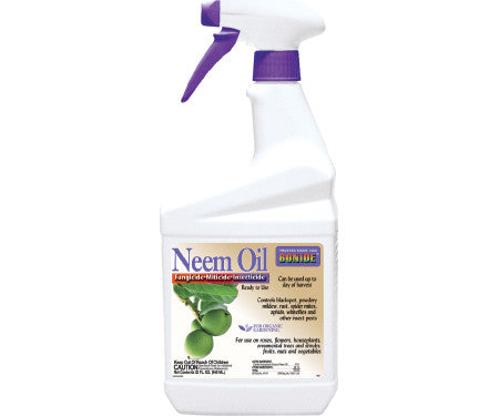 Bonide Neem Oil Ready To Use Organic Insecticide 32oz.