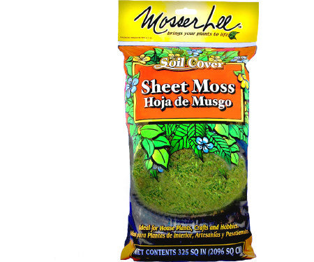 Mosser Lee Natural Green Sheet Moss 325 SQ. IN.