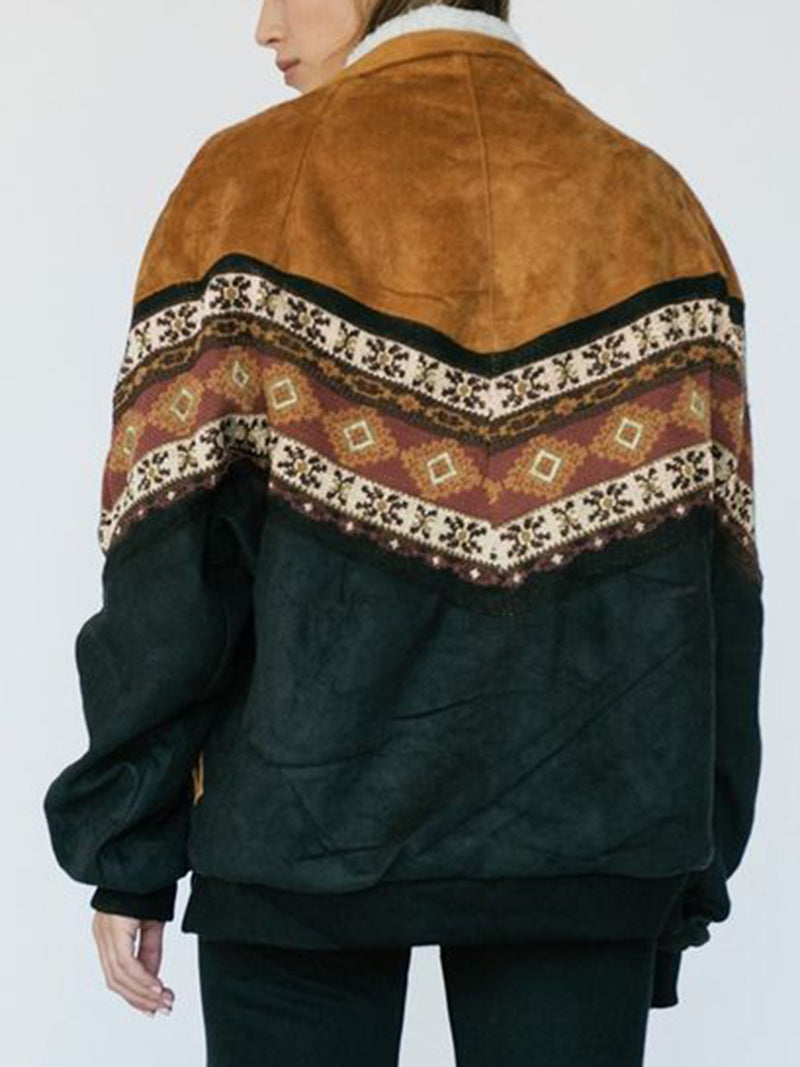 Tribal Vintage Long Sleeve Outerwear