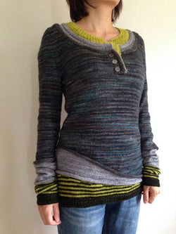 Cotton-Blend Vintage Sweater