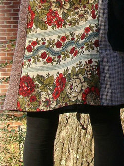 Floral Vintage Pockets Skirts