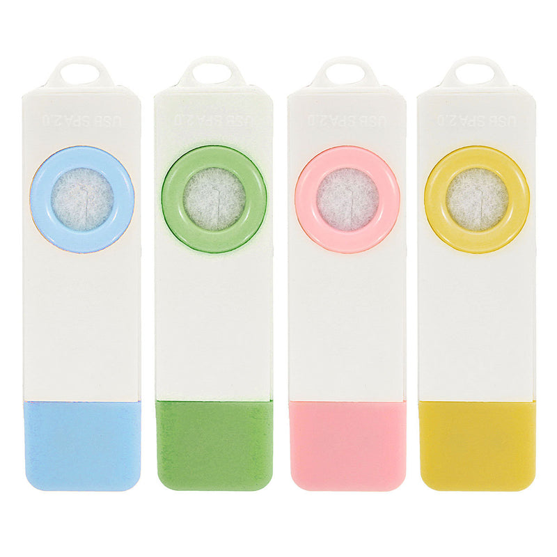 Mini USB Essential Oil Aromatherapy Diffuser Aroma Fresh Air Car Room 5 Colors