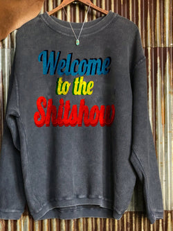 Ladies Personalized Printed Long Sleeve Top