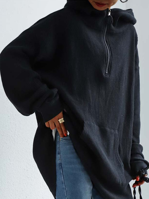 Long Sleeve Plain Sweatshirt
