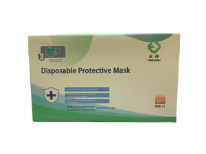 3-Layer Disposable Mask (200PCS) - $0.29ea