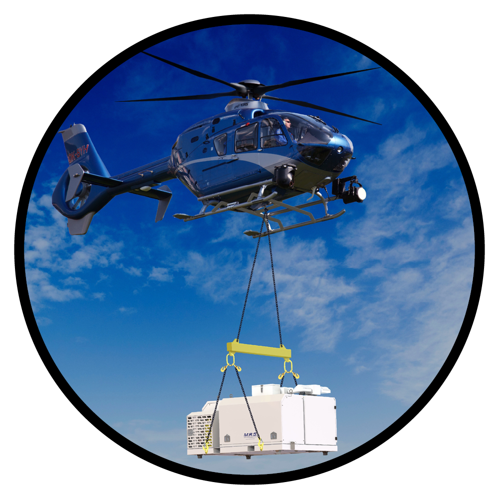 M.R.S (Modular Response System) Applications & Industries - Designed to be lifted by helicopters, cranes and forklifts