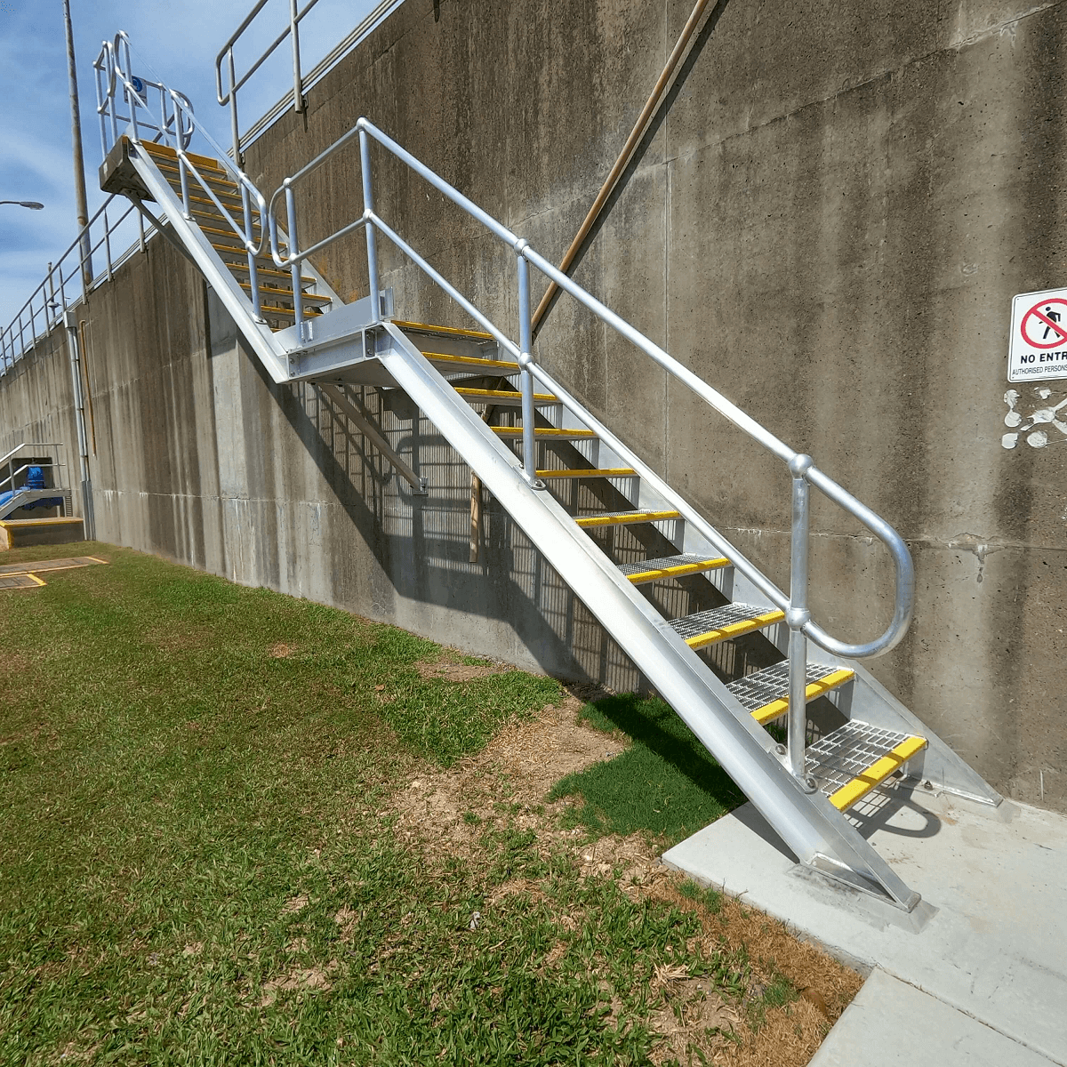 Mass Products - Stairs and Handrail Upgrade