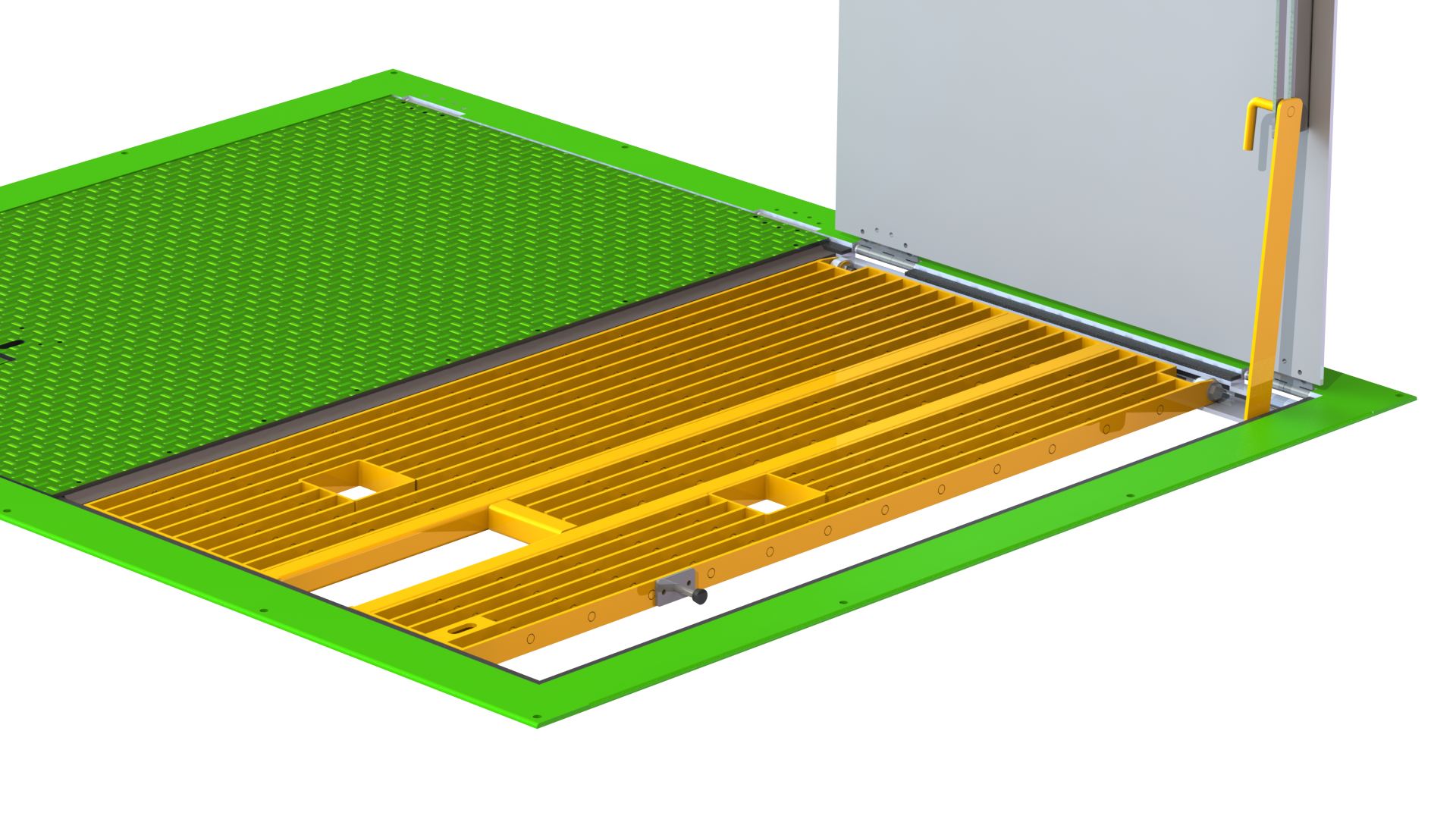 Mass Products Grating Panel Penetrations