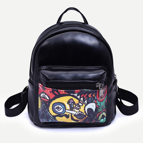 Backpack Printing Backpacks Unisex Girls Boys Book