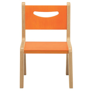 "Whitney Plus 10"" Chair - Hot Pumpkin"
