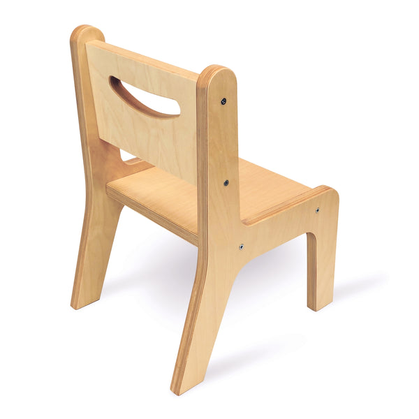 "Whitney Plus 12"" Chair - Natural"