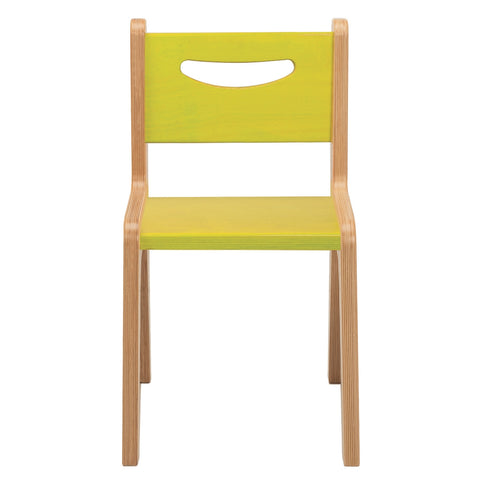 "Whitney Plus 14"" Chair - Electric Lime"