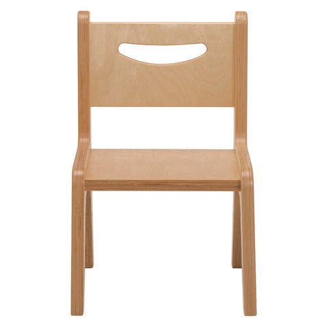 "Whitney Plus 14"" Chair - Natural"