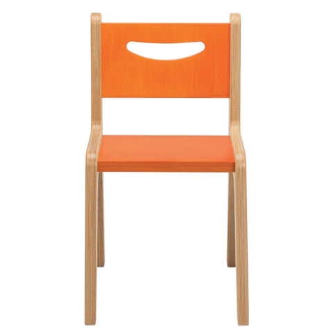 "Whitney Plus 14"" Chair - Hot Pumpkin"