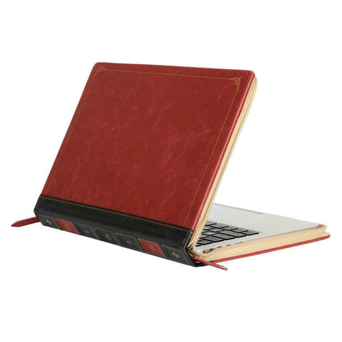 Vintage Classic PU Case for Macbook Pro 13