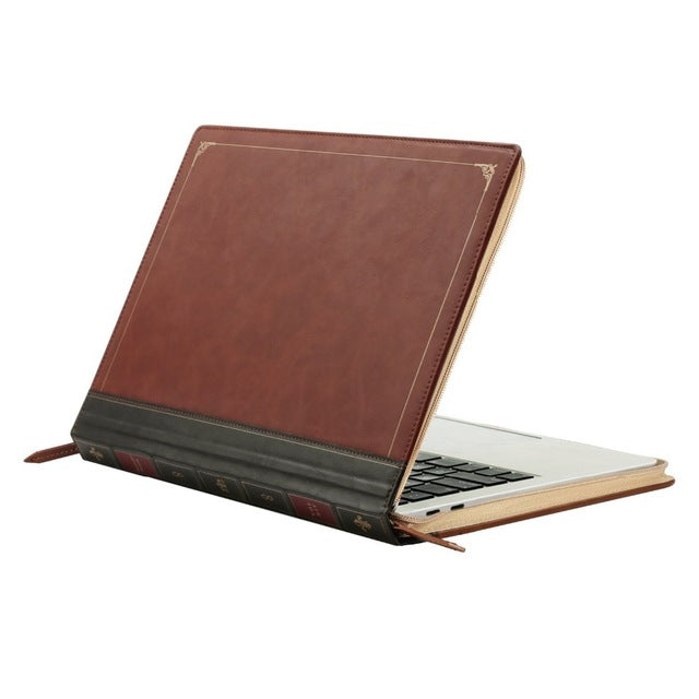 for Macbook Air 13 Vintage PU Leather