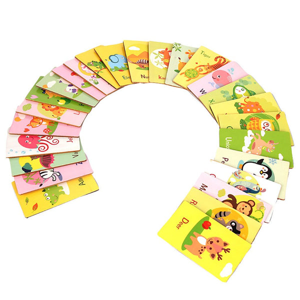 All 26 Letters Alphabet Cards Educational
