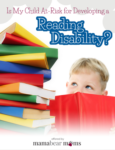 Is My Child at Risk of Developing a Reading Disability?