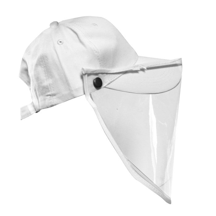 Baseball Cap Protective Hat Full Face Mask Shield