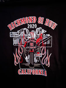 Richmond Run With the 81 Run Shirt