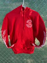 Load image into Gallery viewer, Red pullover hoodie no zip