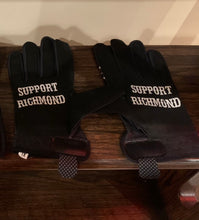 Load image into Gallery viewer, Black Support Richmond Gloves