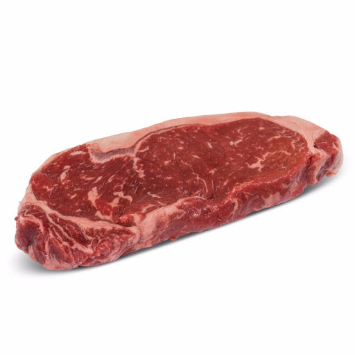 W/C AAA BEEF STRIPLOIN STEAKS E/E 1/PACK
