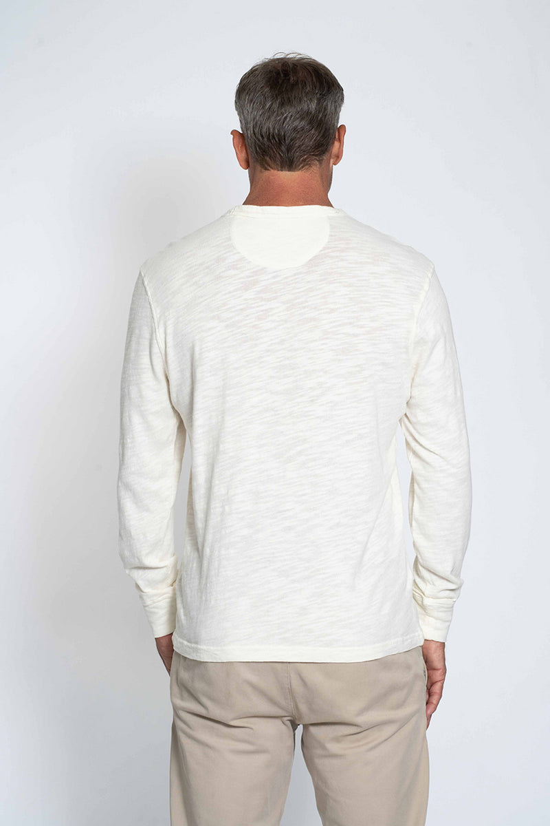 Sun Washed Long Sleeve Crew