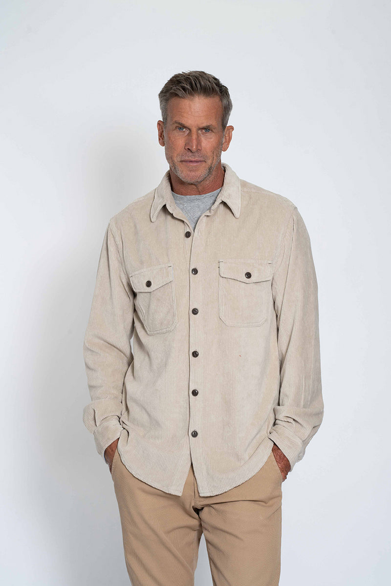 Best Stretch Cord Long Sleeve Shirt