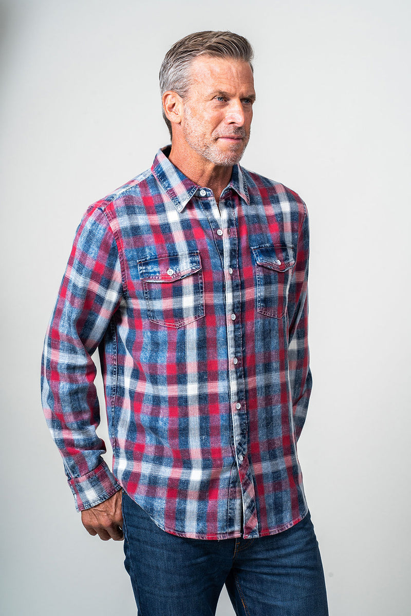 Long Sleeve Pocket Shirt