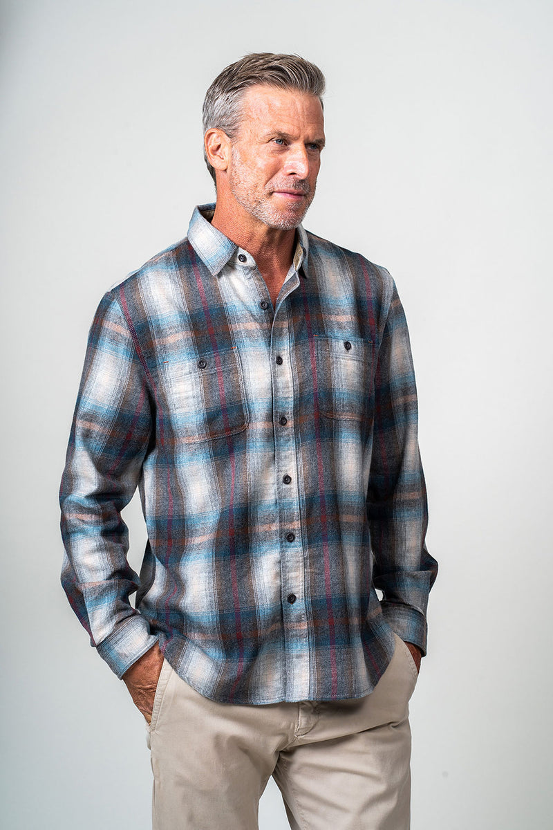 Stillwater Plaids Long Sleeve Shirt