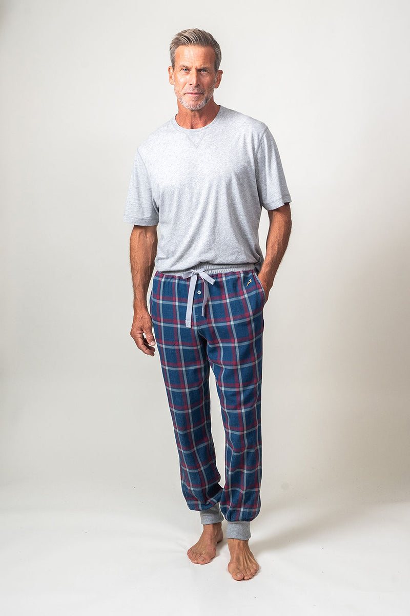 Stillwater Checks Flannel Jogger