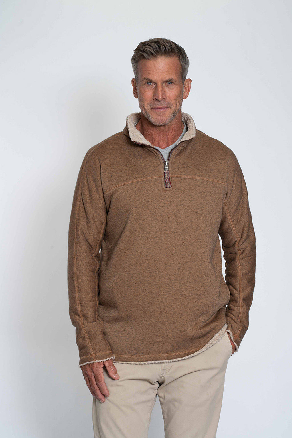 Fleece & Fur 1/4 Zip Pullover