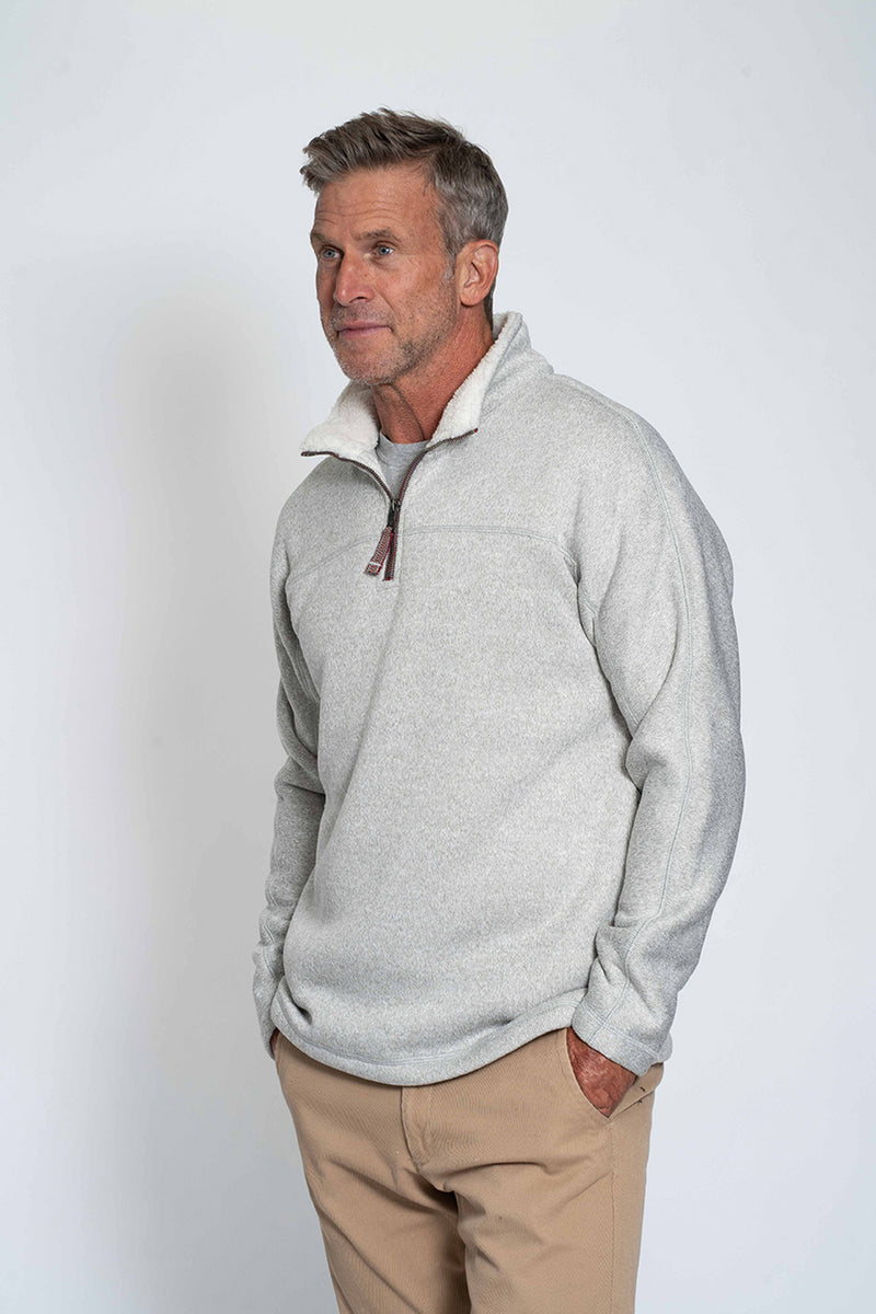 Varsity Fleece 1/4 Zip Pullover