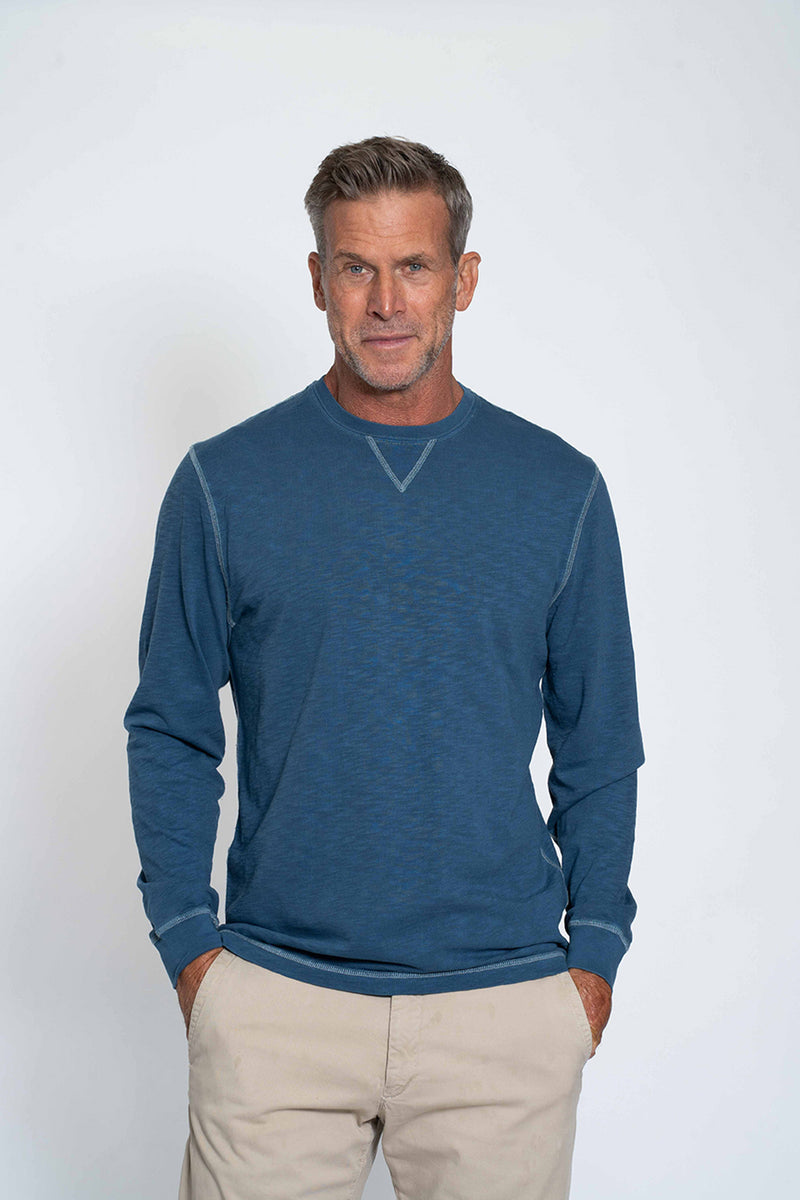 Heritage Slub Long Sleeve Crew