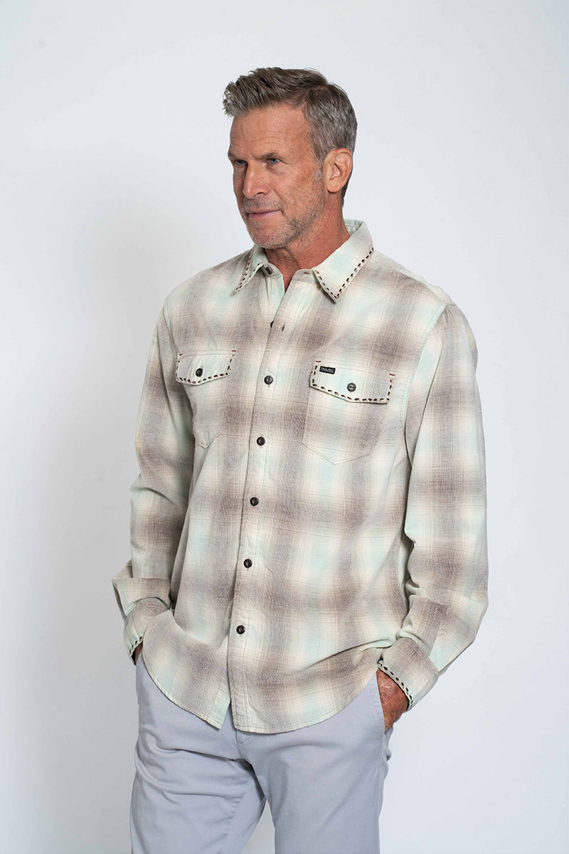 Malibu Plaid Long Sleeve Pocket Shirt