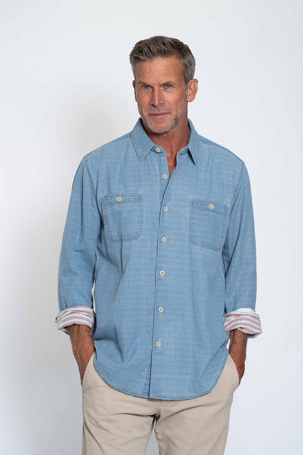 Mason Long Sleeve Pocket Shirt