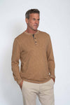 Venice Slub Long Sleeve Henley