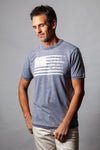 Bowery Burnout American Flag Short-Sleeve Tee