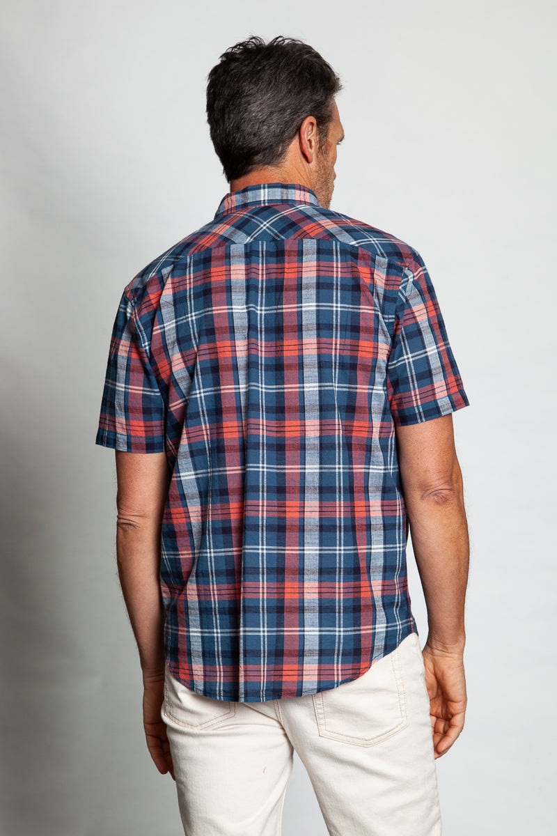 Cape Cod Checks Short-Sleeve Shirt