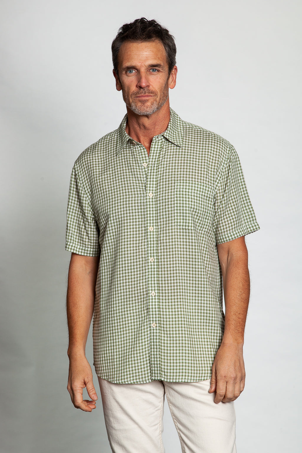 Beach House Checks Short Sleeve Shirt